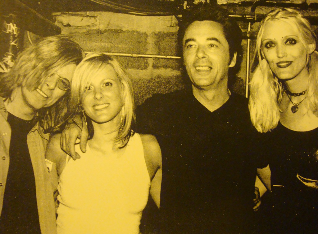 David Bowie, Holly Palmer, Earl Slick and Sue Sed - Chickfest in NYC