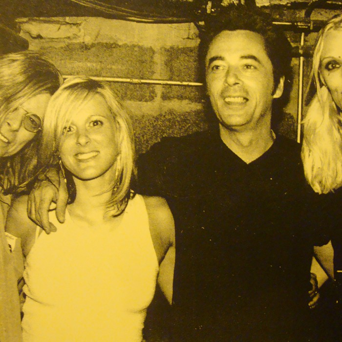David Bowie, Holly Palmer, Earl Slick and Sue Sed - Chickfest in NYC - Photo by Shell Sheddy